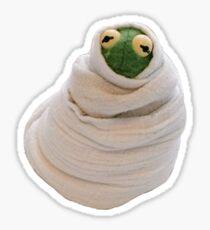 Sad Kermit  Sticker
