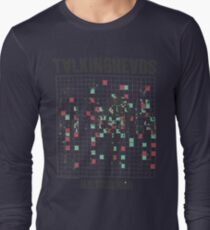talking heads inspired tour tee Long Sleeve T-Shirt
