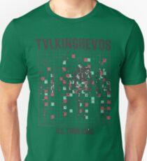 talking heads inspired tour tee Unisex T-Shirt