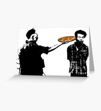 Pizza for one? Greeting Card