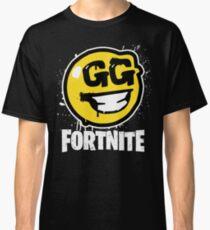 Fortnite Battle Royale GG Good Game Graffiti Spray Smiley Face Shirt Classic T-Shirt