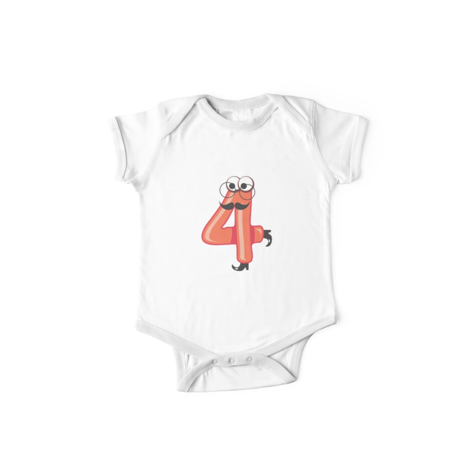 Birthday Shirts For Toddlers 4 DACC