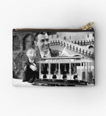 Mr Rogers, Corny and Trolley Studio Pouch