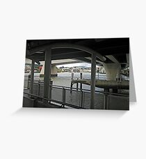 Under the Freeway Greeting Card