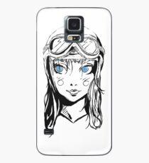 Bright Eyed Girl Case/Skin for Samsung Galaxy