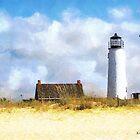 St. George Island Lighthouse by Rhonda Strickland