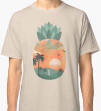 Camiseta clásica Oro tropical