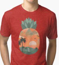 Tropical Gold Tri-blend T-Shirt