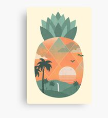 Tropical Gold Canvas Print