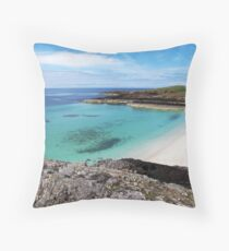 Highland Weather - the Best and the Worst! Throw Pillow