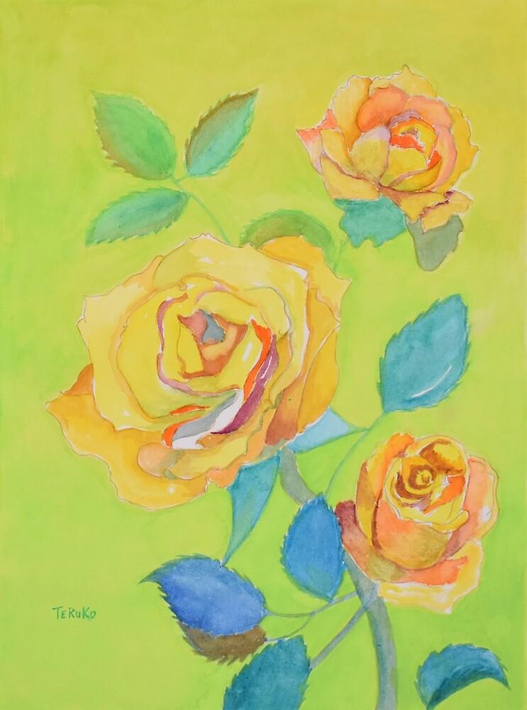Friendship (Yellow Rose) by BlueCanna