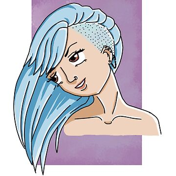 Violett Blue by Nada-Nalani-Art