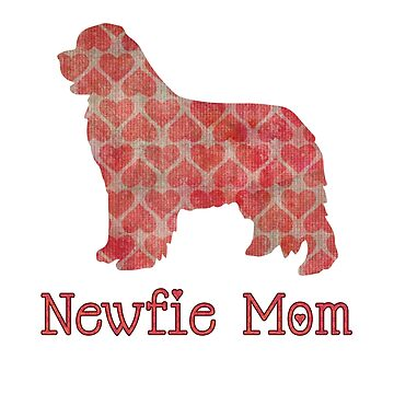Newfie Mom in Pink Hearts by itsmechris