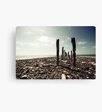 Old Jetty Canvas Print