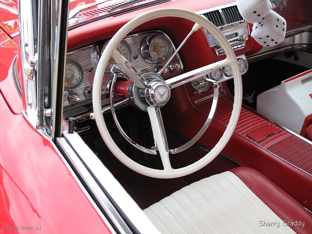 1960 Ford Thunderbird Interior by Sherry  Graddy