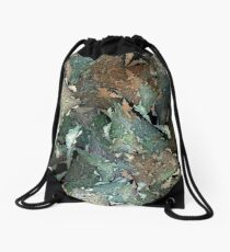 Fractal landscapes Drawstring Bag