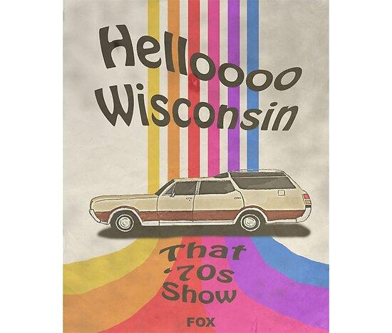 Hallo Wisconsin von ariahgraphics