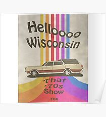 Hello Wisconsin Poster