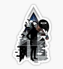 Ghosts Sticker
