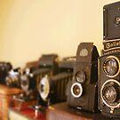 Vintage Cameras by BTaberham