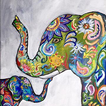 Elephant Colors by Creatividad