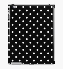 Black Polka Dots iPad Case/Skin