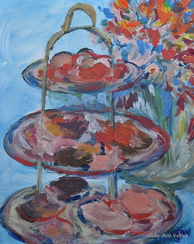 Tiered Series - 1 by Julie-Ann Vellios