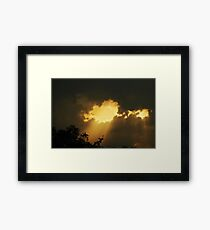 A Ray Of Light - A Ray Of Hope Framed Print