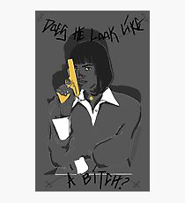 PULP FICTION- HEINOUS Photographic Print