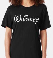 Camiseta ajustada Humor del alcohol whisky