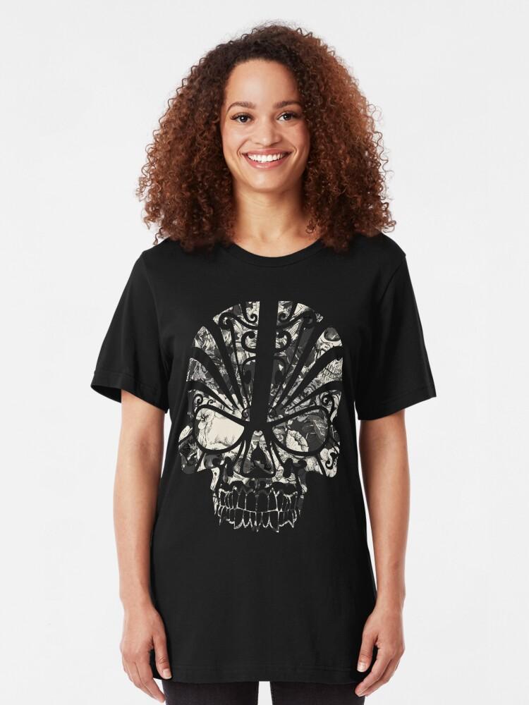 Alternate view of SKULLS Slim Fit T-Shirt