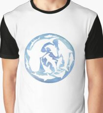 Camiseta gráfica Mundo de tiburones