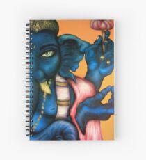 Cuaderno de espiral Royal Blue Ganesha
