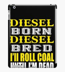 Awesome Diesel Design Born and Bred iPad Case/Skin