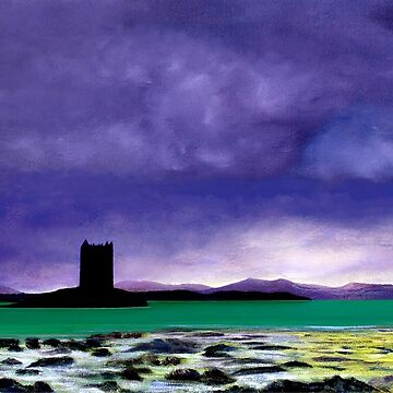 Castle Stalker by giovanniart