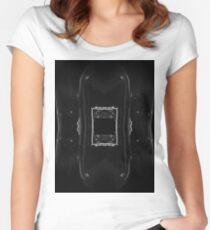 Akron 3 Space Station Commander Women's Fitted Scoop T-Shirt