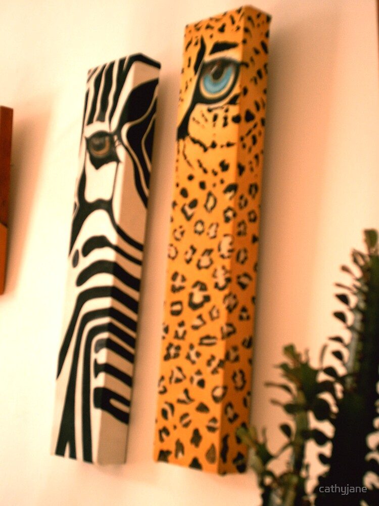 Leopard print by cathyjane