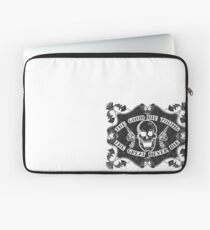 The Good Die Young, The Great Never Die Laptop Sleeve