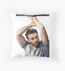 Chris Evans Throw Pillow