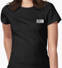 FLEXIN (Cornered) Women's Fitted T-Shirt