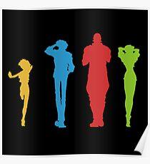 Cowboy Bebop Full Team Poster