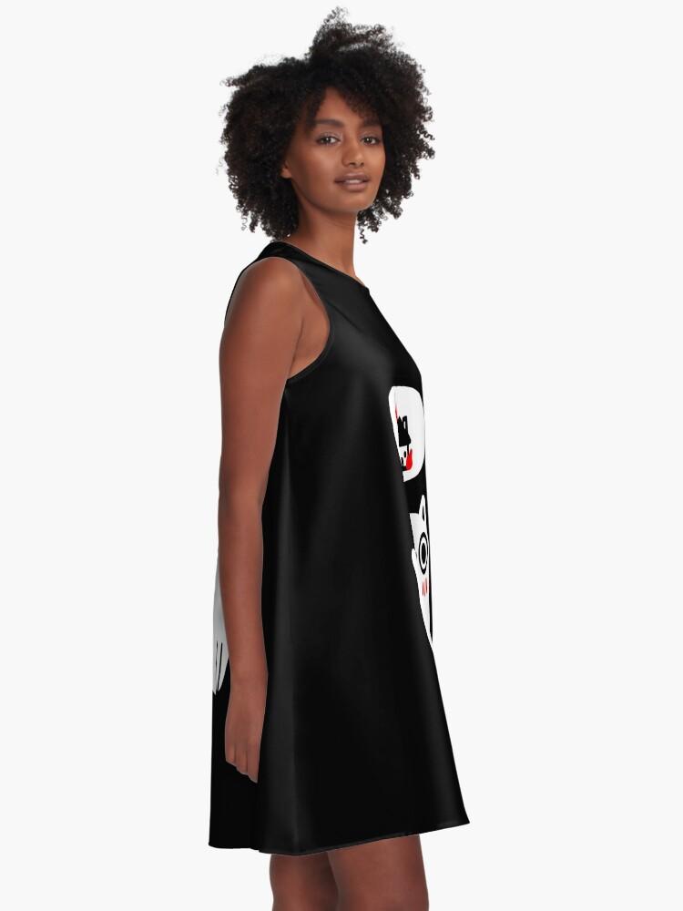 Alternate view of Dreaming Of Destruction A-Line Dress