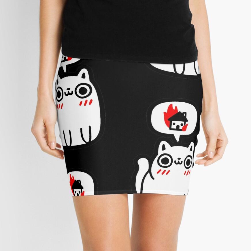 Dreaming Of Destruction Mini Skirt