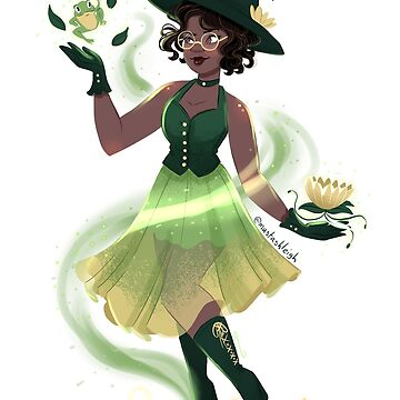 Frog witch by mustashleigh