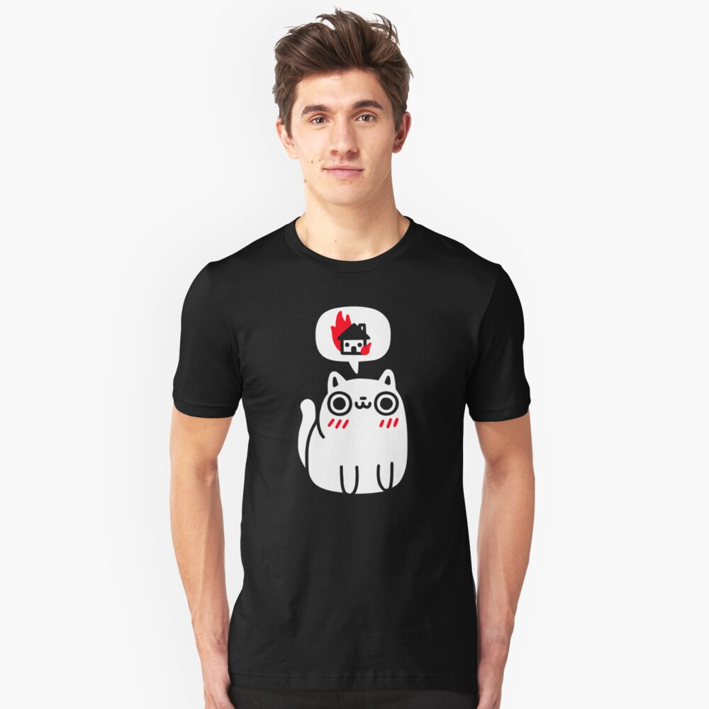 Dreaming Of Destruction Slim Fit T-Shirt