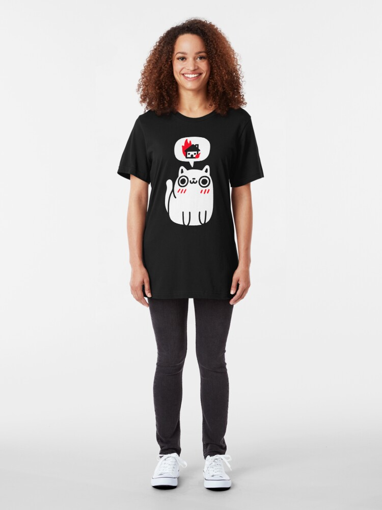 Alternate view of Dreaming Of Destruction Slim Fit T-Shirt