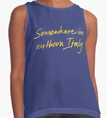 Irgendwo in Norditalien - Ruf mich mit deinem Namen an Kontrast Top