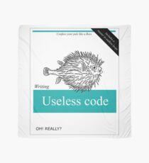 Useless Code Scarf