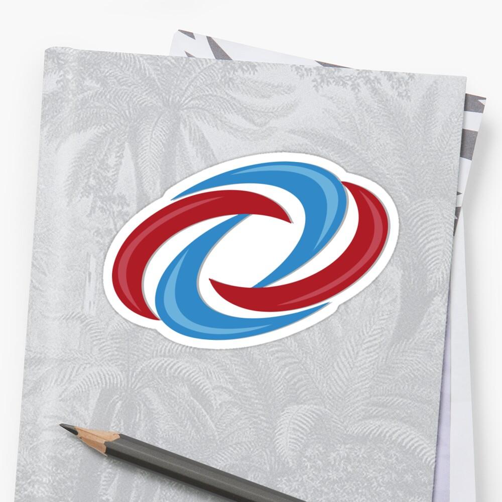 """Henry Danger Logo"" Sticker by Linneke | Redbubble"
