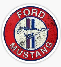 ford mustang car Sticker